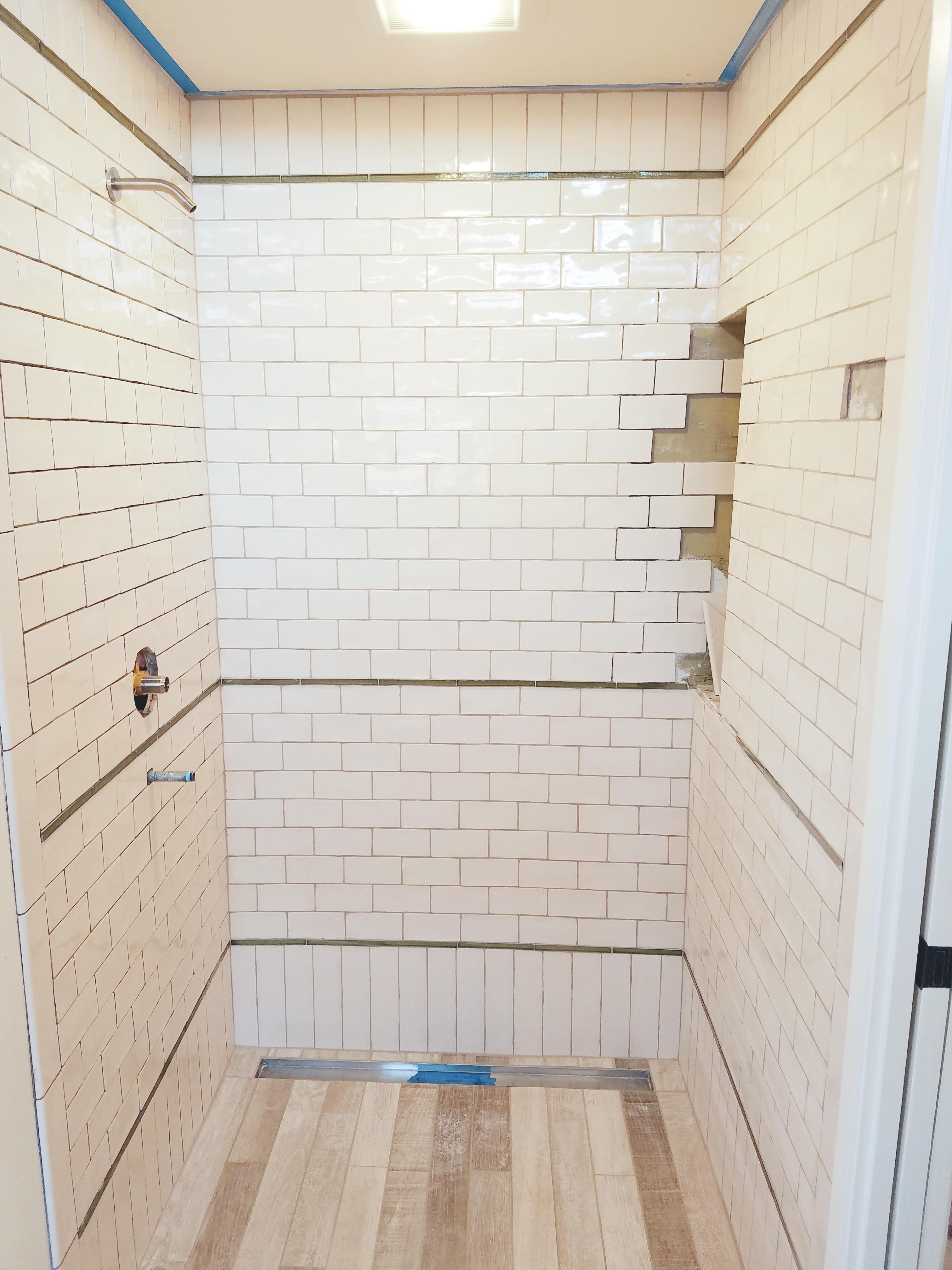 Barrier Free Shower Floor Tile - Seelos Design & Construction