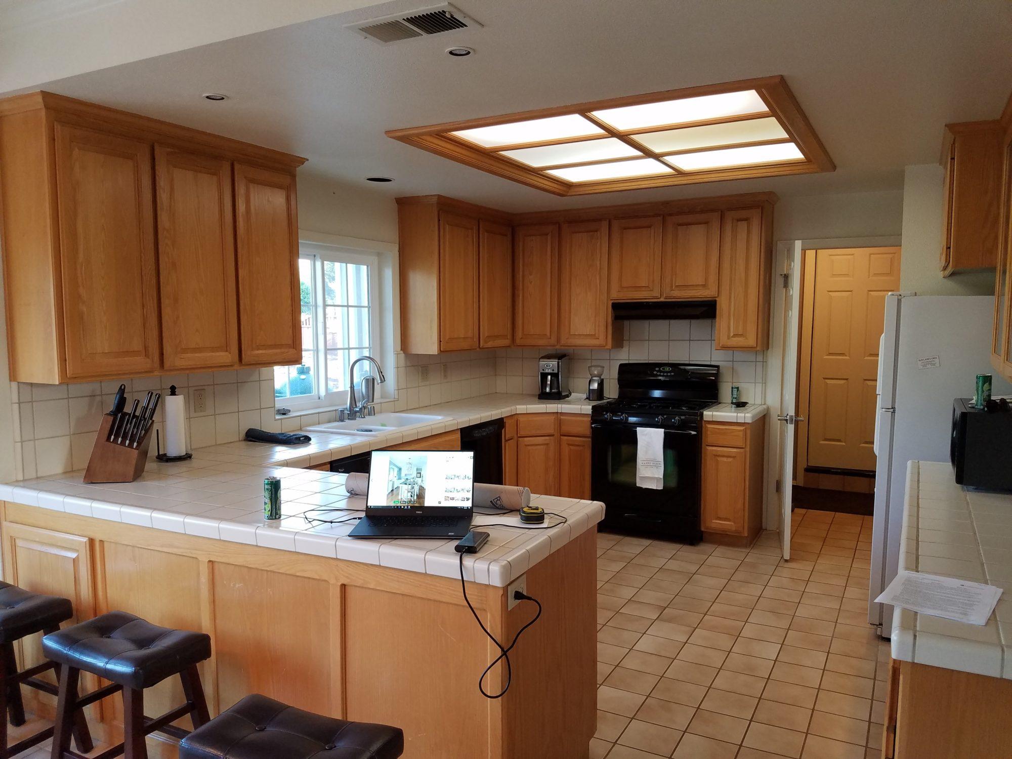 San Luis Obispo Kitchen Before Seelos Design Construction